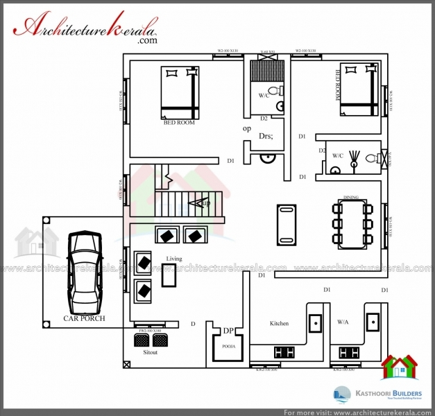 Stunning 1600 Square Feet House Plan And Elevation Architecture Kerala 1200 S Feet House Elevation Picture