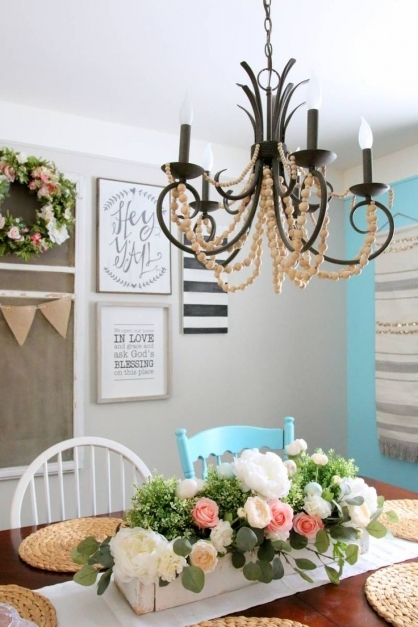 Stunning 481 Best Dining Rooms Images On Pinterest Farmhouse Style American Farmhouse Spring 2017 Pictures