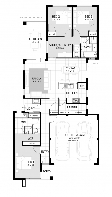 Stunning Extraordinary 3 Bedroom House Plans 72 Moreover Home Decorating 3bedroomhouseplan Image