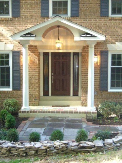 Stunning Front Doors Beautiful Front Door Porches Design For Your Home Colonial Front Porch Designs Picture