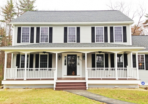Stunning Front Porches A Pictorial Essay Suburban Boston Decks And Colonial Front Porch Designs Pic
