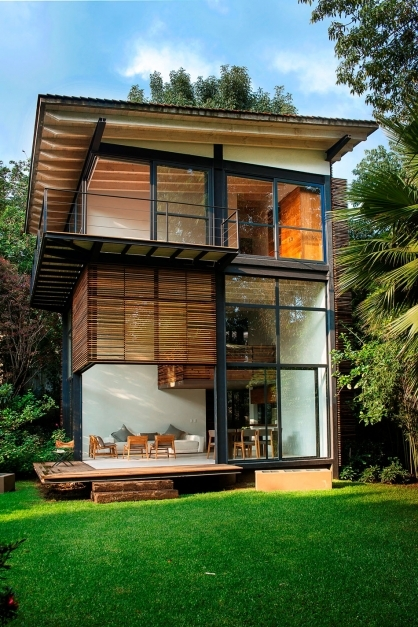 Stunning Modern Small House Exterior Design Of Plus Outer With Garden Small Modern Homes Photos