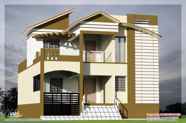Stylish 3 Bedroom South Indian House Design Kerala Home Design And Floor Indian House Images Photos