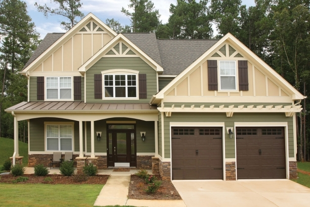 Stylish Exterior Beautiful Exterior Home Design Ideas With House Siding Green Siding Houses Images