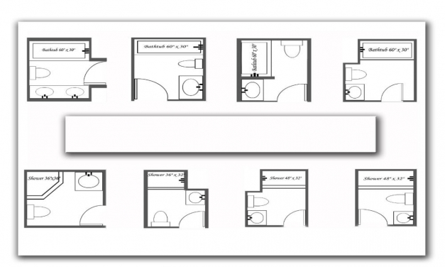 Stylish Innovative Small Bathroom Floor Plans In House Decor Concept With Small Bath Floor Plans Pictures