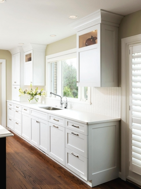 Stylish Tuscan Kitchen Cabinets Pictures Ideas Tips From Hgtv Hgtv White Craftsman Style Cabinets Photos