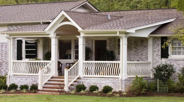 Wonderful Best Front Porch Designs For Brick Homes Gallery Interior Design Front Porch Designs For Ranch Homes Images