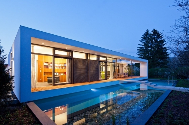 Wonderful Foxy Contemporary Home Design With Sleek And Classy House Plans Classy House Designs Pics