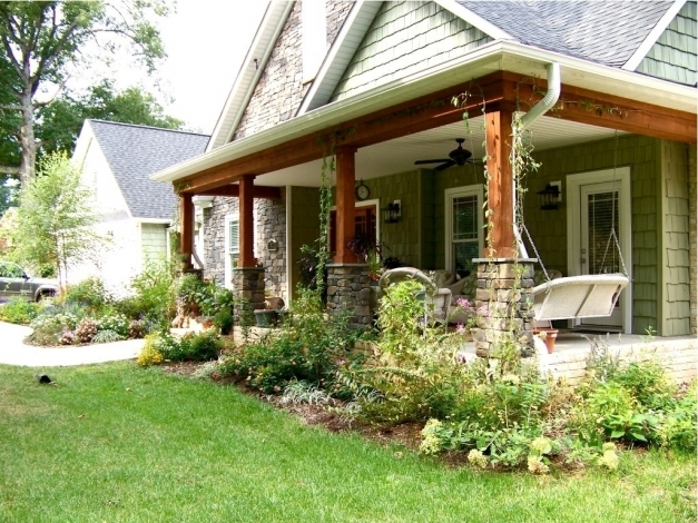 Wonderful Pictures Of Front Porches On Ranch Homes Front Porch Designs For Ranch Homes Image