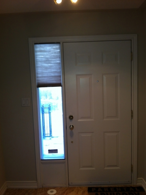 Wonderful Sidelight Window Blinds Cover Interior Exterior Homie How To Blinds For Sidelights Photo