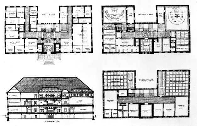 Amazing Filecambridge Massachusetts City Hall Elevation And Floor Building Plans And Elevation Pictures