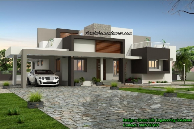Amazing Kerala Latest Home Designs Superb House Plan Contemporary Design New Home Designs In Kerala 2016 Images