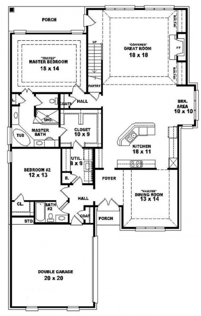 Awesome Best 25 One Level House Plans Ideas On Pinterest Four Bedroom 3 Bedroom House Plans On Half Plot Of Land Photos
