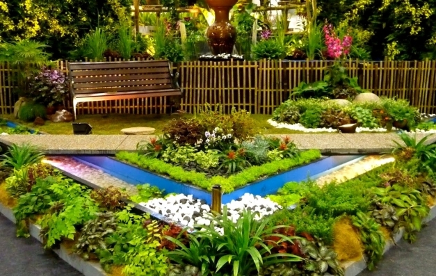 Awesome Garden Design Garden Design With Ideas For A Slope Front Lawn Planter Box Ideas Landscaping Pictures