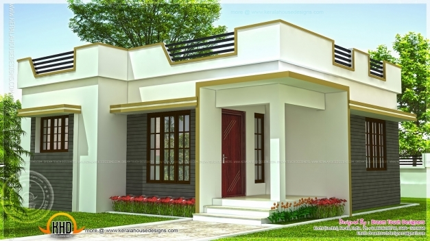 Awesome Small House In Kerala In 640 Square Feet Indian House Plans Indian Small House Design Photos