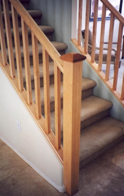 Best Mission Style Staircase Railings Artistic Stairs Craftsman Railings Images