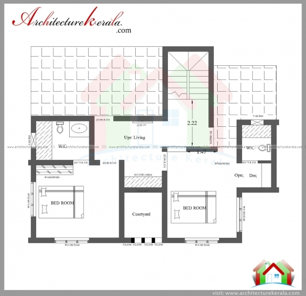 Best Three Bedroom House Plan And Elevation In 2000 Sq Ft Architecture 3 Bedroom House Images