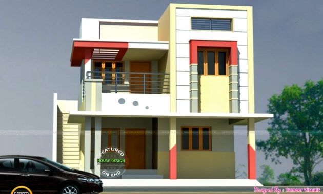 Delightful 1600 Sq Ft Tamil House Plan Kerala Home Design And Floor Plans Tamil Small House Plans Images