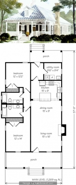 Delightful Best 25 Small Cottage Plans Ideas On Pinterest Small Home Plans Small Cottage House Plans Images