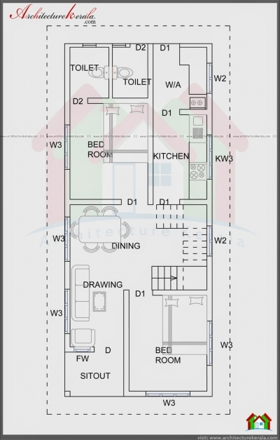Delightful Download 900 Sq Ft House Plan And Elevation Adhome 1000 Sq Ft House Plan Design In 2016 Photo