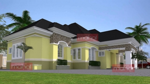 Delightful Modern Bungalow House Design In Nigeria Youtube Building Plans In Nigeria Pics