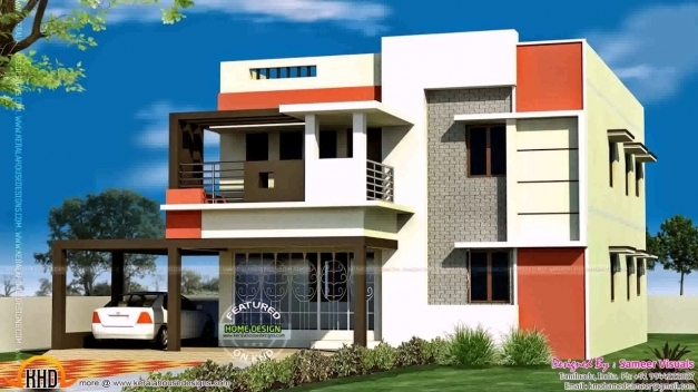 Delightful South Indian House Front Elevation Designs For Ground Floor Youtube South India Elevation Picture