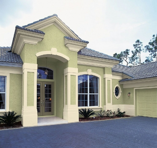 Fascinating Brown Exterior Paint Schemes Modern Exterior House Paint Colors Exterior Wall Colours That Match With A Tile Red Roof Image