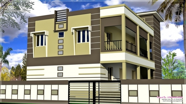 Fascinating Download India House Design Homecrack South India Elevation Picture