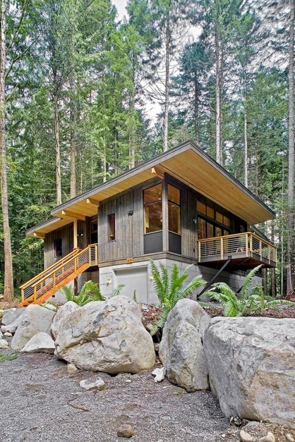 Fascinating Modern Rustic Homes Home Decor Rustic Modern Homes Decor Modern Small Rustic Homes Photo