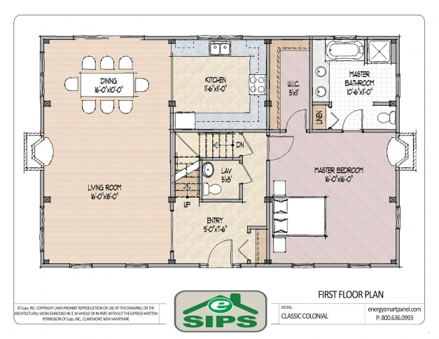 Fascinating Open Floor Plan Colonial Homes House Plans Pinterest Within Pinterest Open Floor Plans Pictures
