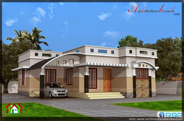 Gorgeous 1000 Sqft Single Storied House Plan And Elevation Architecture Single House Elevation Pic