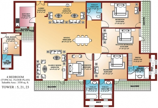 Gorgeous 4 Bedroom House Floor Plans Home Design Ideas Best Four Bedroom 4 Bedroom Plans For A House Pics