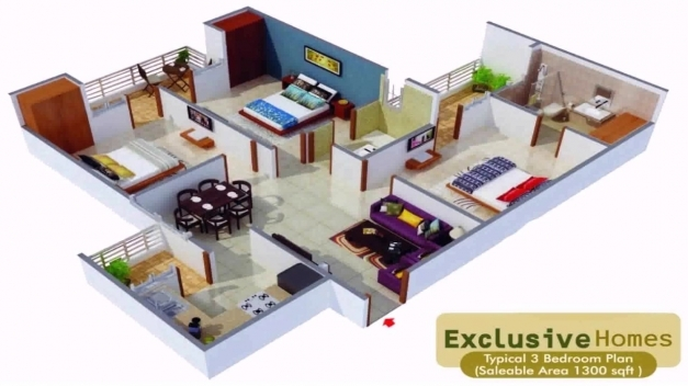 Gorgeous House Plans In 1000 Sq Ft Indian Style Youtube 1000 Square Feet Indian House Plans Images