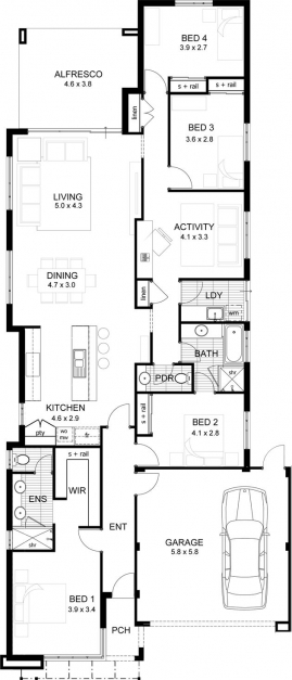 Incredible Best 25 Australian House Plans Ideas On Pinterest 5 Bedroom 2017 Small House Plans Pictures