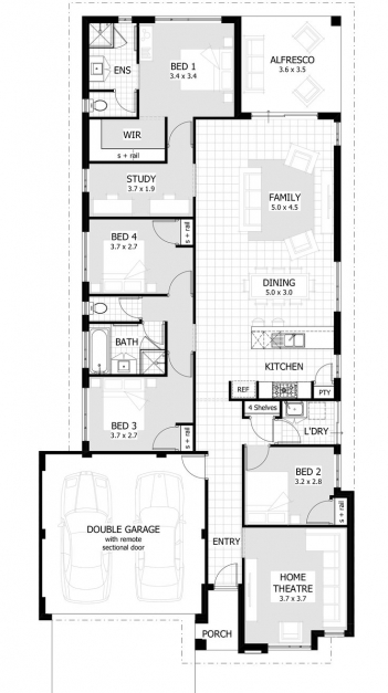 Incredible Best 25 Single Storey House Plans Ideas On Pinterest Single Compact House Plans Photo