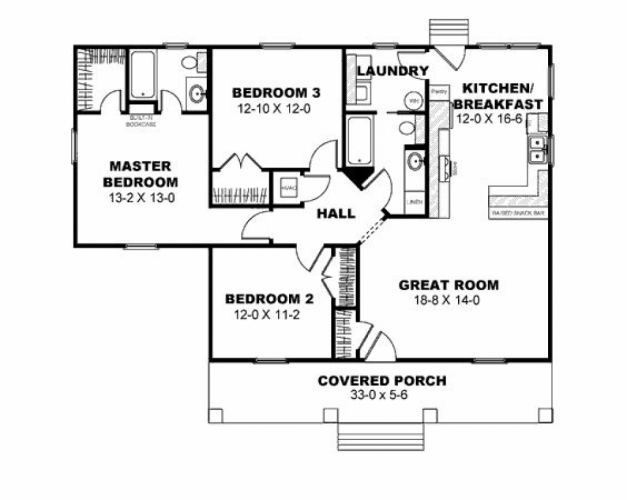 Incredible Terrific 3 Bedroom Bungalow House Plans In Philippines 29 With 3 Bedroom Bungalow Floor Plan Pic