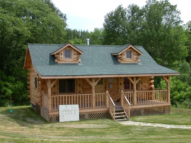 Inspiring Build Your Log Cabinhome Articles How Tos Tools And More Log Cabin Build Image