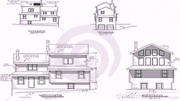 Inspiring House Plans Elevation Section Youtube House Plan With Elevation And Section Images