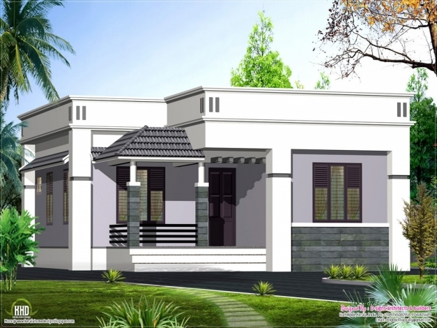 Inspiring Single Floor House Plans There Are More Single Floor House Single House Elevation Image