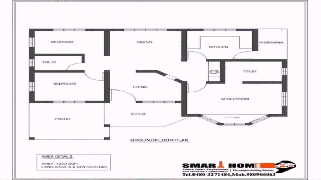 Marvelous 4 Bedroom House Plans Kerala Style Architect Youtube 4 Bedroom Plans For A House Pics