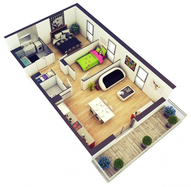 Outstanding Amazing Architecture 2 Bedroom House Plans Designs 3d House 3d Images Of 2 Bedroom House In The Phil Photos
