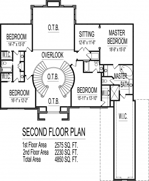Outstanding Apartments 5 Bedroom 2 Story House Plans Bedrooms House Plans Simple House Designs 6 Bedrooms Image