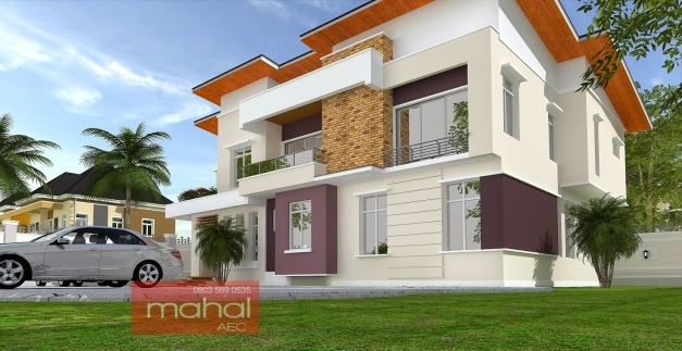 Outstanding Contemporary Nigerian Residential Architecture Building Plans In Nigeria Images