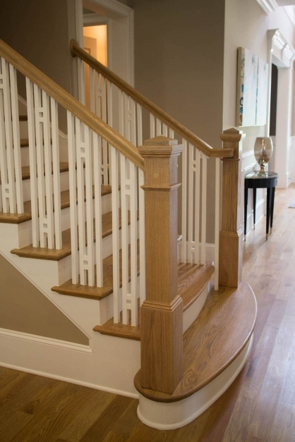 Remarkable Craftsman Staircase Design Artistic Stairs Craftsman Railings Images