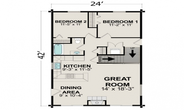 Remarkable Small House Plans Under 500 Sq Ft Regarding 2017 Small House Plans Picture