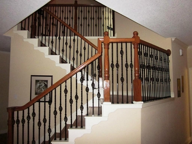 Stunning Fascinating Staircase Spindles Ideas Wrought Iron Staircase Ideas Wrought Iron Stair Designs Pics