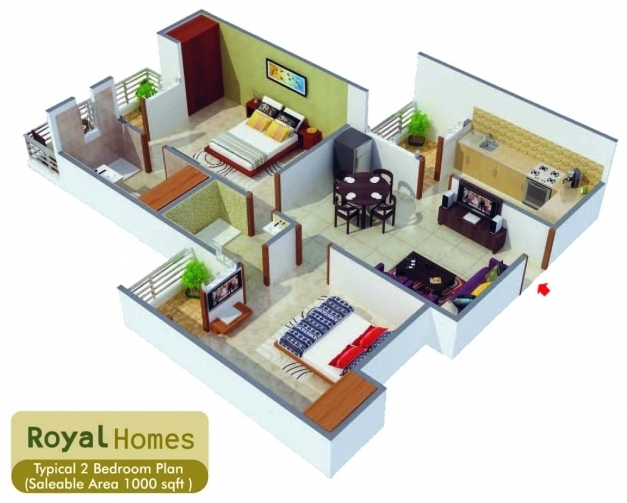 Stylish 1000 Square Feet House Design Home Deco Plans Indian House Designs For 1000 Sq Ft Photo