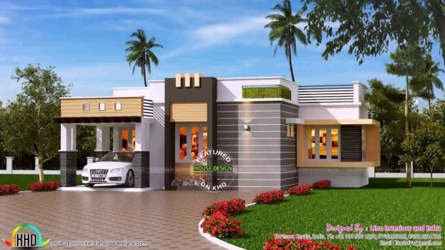 Stylish 3 Bedroom House Plans In Kerala Single Floor Youtube 3 Bedroom House Plans In Kerala Single Floor Picture