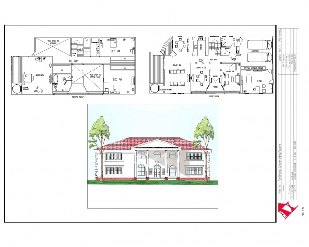 Stylish House Plan Plans Elevation Section Escortsea And Elevations House Plan With Elevation And Section Photos