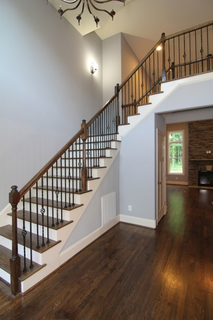 Stylish Main Floor Master Home Wake Forest New Homes Stanton Homes Nice 2 Story Houses Inside Pictures